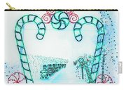 Candy Cane Christmas 2 Carry-all Pouch