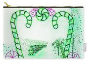Candy Cane Christmas 5 Carry-all Pouch