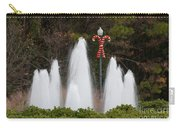 Candy Cane Water Fountain Carry-all Pouch