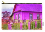 Candy Cottage - Featured In Comfortable Art Group Carry-all Pouch
