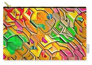 Candy - Lolly Pop Abstract  Carry-all Pouch
