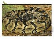 Canebrake Rattlesnake Carry-all Pouch