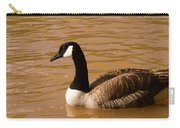 Canidian Goose On Golden Pond Carry-all Pouch