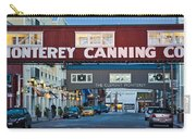 Cannery Row Area At Dawn, Monterey Carry-all Pouch