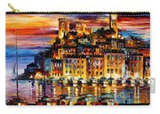 Cannes-france - Palette Knlfe Oil Painting On Canvas By Leonid Afremov Carry-all Pouch