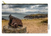 Cannon At Llanddwyn  Carry-all Pouch by Adrian Evans