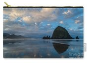 Cannon Beach Calm Morning Tidal Flats Carry-all Pouch