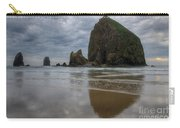 Cannon Beach Haystack Reflection Carry-all Pouch