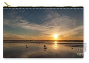 Cannon Beach Sunset Tidal Flats Carry-all Pouch