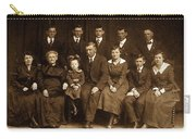 Cannon Family Portrait Circa 1912 Carry-all Pouch