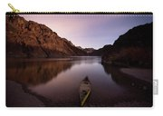 Canoe In Lake Near Shore, Arizona Carry-all Pouch