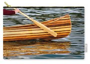 Canoe Lines And Reflections Carry-all Pouch