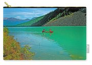 Canoe On Lake Louise In Banff Np-alberta Carry-all Pouch