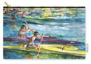 Canoe Race In Polynesia Carry-all Pouch