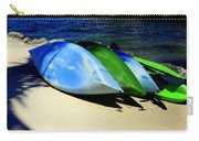 Canoe Shadows Carry-all Pouch by Karen Wiles