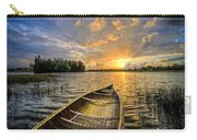 Canoeing At Sunrise Carry-all Pouch