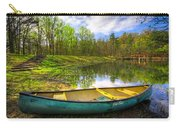 Canoeing At The Lake Carry-all Pouch