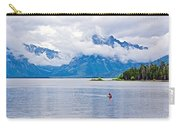 Canoeing In Colter Bay In Grand Teton National Park-wyoming Carry-all Pouch