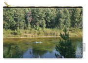 Canoeing Michigan's Au Sable Carry-all Pouch