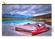 Canoes At Lake Patricia Carry-all Pouch