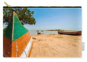 Canoes On A Lakeshore Carry-all Pouch