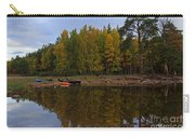 Canoes On The Shore At Loch An Eilein Carry-all Pouch