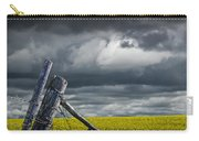 Canola Field In Southern Alberta Carry-all Pouch