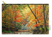 Canopy Of Color II Carry-all Pouch by Frozen in Time Fine Art Photography