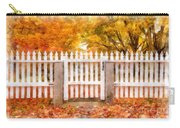 Canterbury Shaker Village Picket Fence  Carry-all Pouch