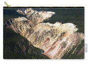 Canyon And Yellowstone Falls Carry-all Pouch