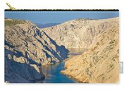 Canyon Of Zrmanja River In Croatia Carry-all Pouch