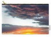Canyon Sunset Carry-all Pouch by Dave Bowman