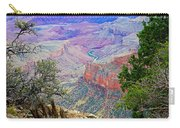 Canyon View From Walhalla Overlook On North Rim Of Grand Canyon-arizona  Carry-all Pouch