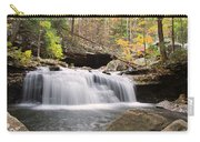 Canyon Waterfall-artistic Carry-all Pouch