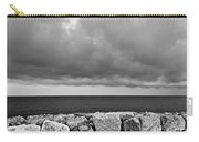 Caorle Dream Black And White Carry-all Pouch