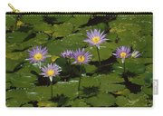 Cape Blue Water-lily Group Blooming Carry-all Pouch