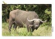 Cape Buffalo  Uganda Carry-all Pouch