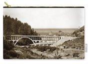 Cape Creek Bridge And Heceta Oregon Head Lighthouse  Circa1933 Carry-all Pouch