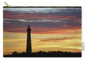 Cape Hatteras Lighthouse At Sunset Carry-all Pouch