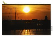 Cape May Harbor At Sunrise Carry-all Pouch