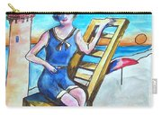 Cape May Illustration Poster Carry-all Pouch