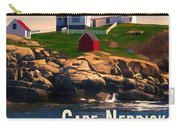 Cape Neddick Lighthouse  At Sunset  Carry-all Pouch