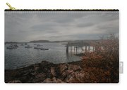 Cape Porpoise Fog Rolls In Carry-all Pouch