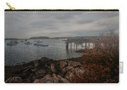 Cape Porpoise Maine - Fog Rolls In Carry-all Pouch