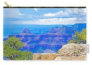 Cape Royal Blue On North Rim Of Grand Canyon-arizona Carry-all Pouch