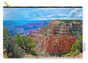 Cape Royal Three On North Rim Of Grand Canyon-arizona Carry-all Pouch