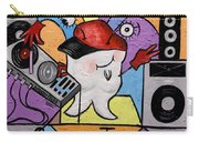 Caped Tooth Carry-all Pouch by Anthony Falbo