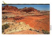 Capitol Reef Colorful Landscape Carry-all Pouch