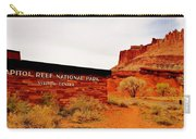 Capitol Reef N P Carry-all Pouch