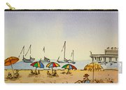 Capitola - California Sketchbook Project  Carry-all Pouch by Irina Sztukowski